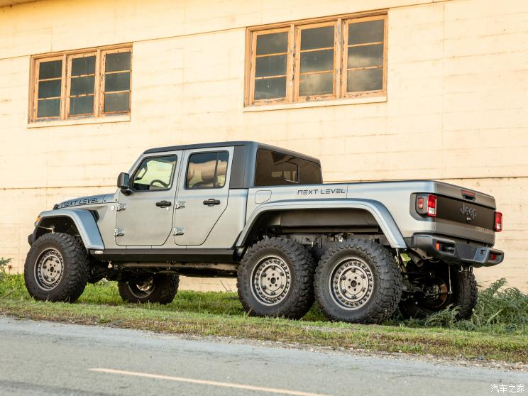NEXT LEVEL Jeep Gladiator 6×6官图-汽车氪
